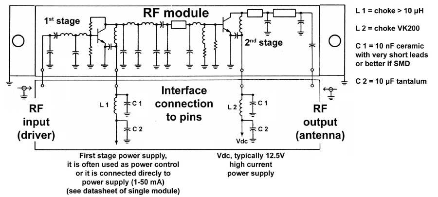 power amplifier modules buy on line rf microwave com rh rf microwave com 9V Preamplifier Circuit Diagram 9V Preamplifier Circuit Diagram
