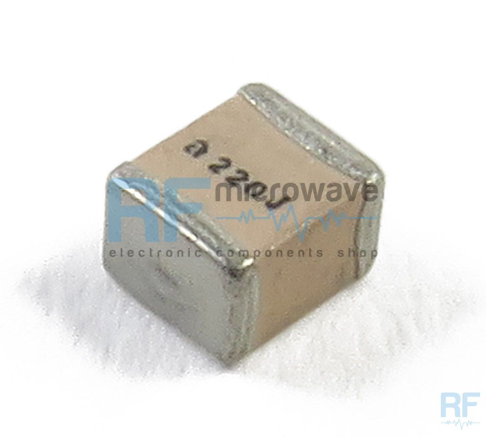 High Q Smd Multilayer Capacitors Pag 4 Buy On Line Rf Fuse Box 200 Amp Porcelain Atc 100b1r0bt500xt Capacitor