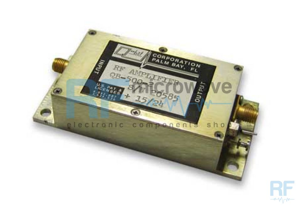 Wide band amplifier, 1 - 700 MHz, SMA female