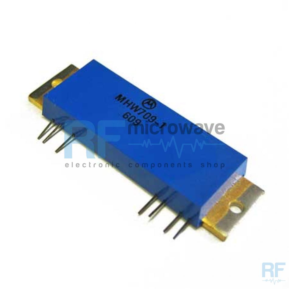 1x Motorola MHW808-1 Case 297A-05 RF//Amplificador de microondas 7.5 W F = 86-870 MHz