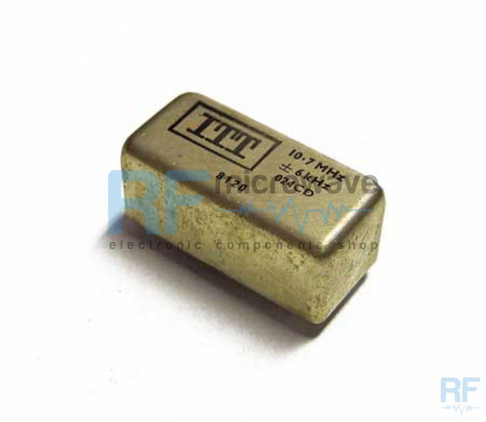 +-3.75kHz ITT 10.7 MHz Crystal Filter