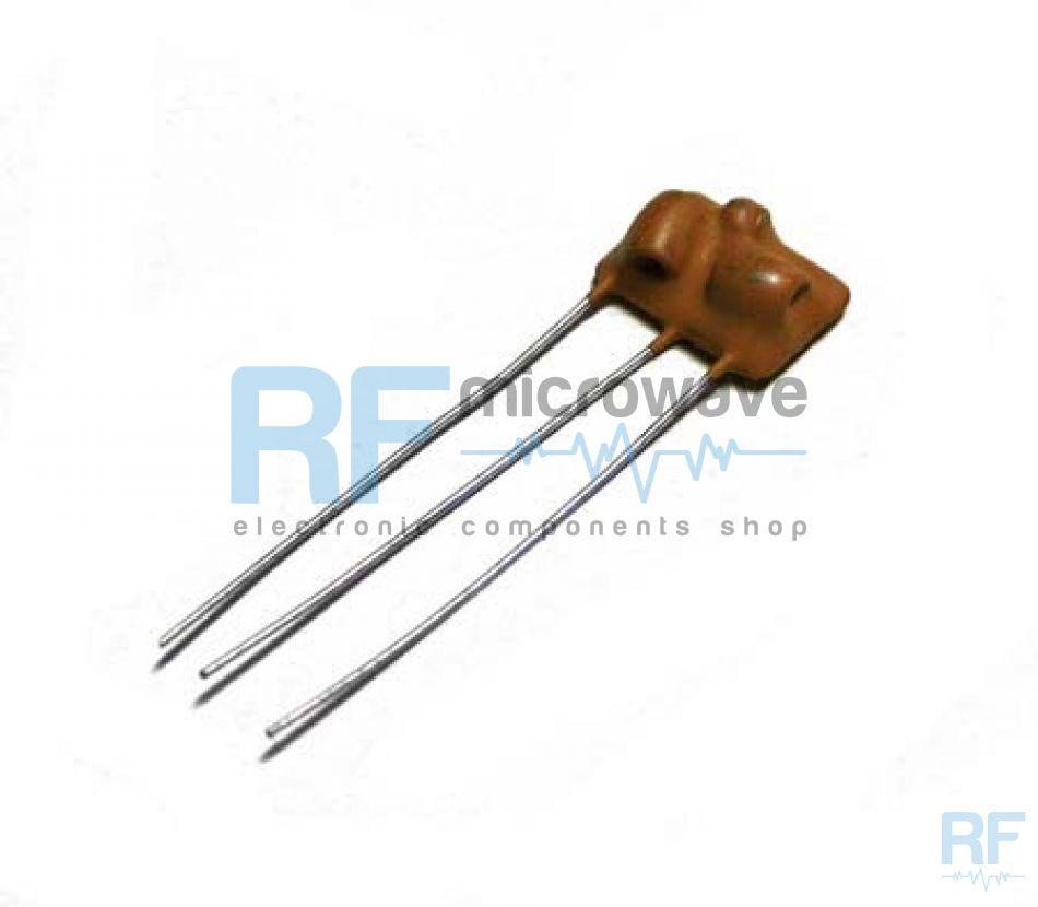 FG-98 | 98 MHz ceramic band-pass filter, 2 poles | Buy on-line | rf