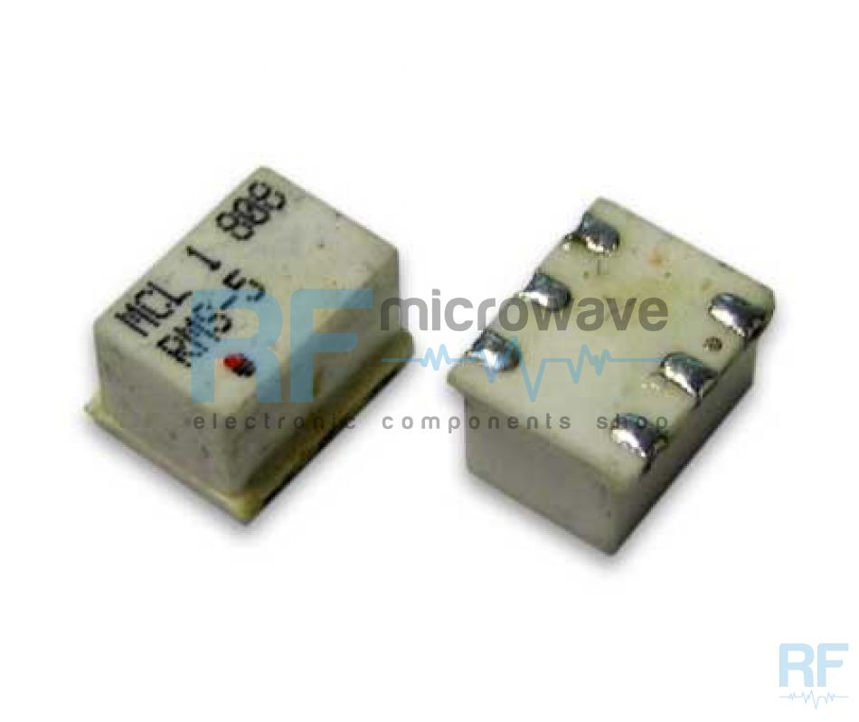 Passive mixer, LO/RF 5-1500 MHz, IF dc-1000 MHz, LO power level +7dBm,  TT240 SMD package