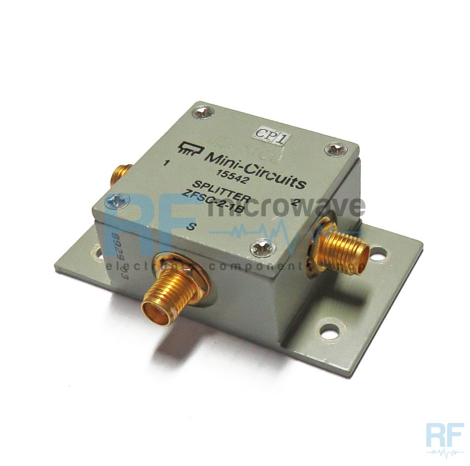 zfsc 2 1b s mini circuits 2 way coaxial power splitter combiner 5 500 mhz 1w buy on line. Black Bedroom Furniture Sets. Home Design Ideas