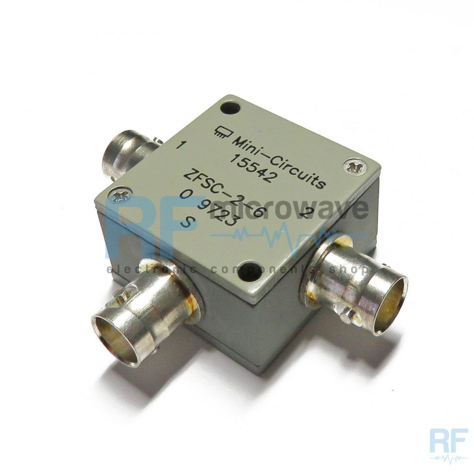 zfsc 2 6 mini circuits 2 way coaxial power splitter combiner 60 mhz 1w buy on line. Black Bedroom Furniture Sets. Home Design Ideas