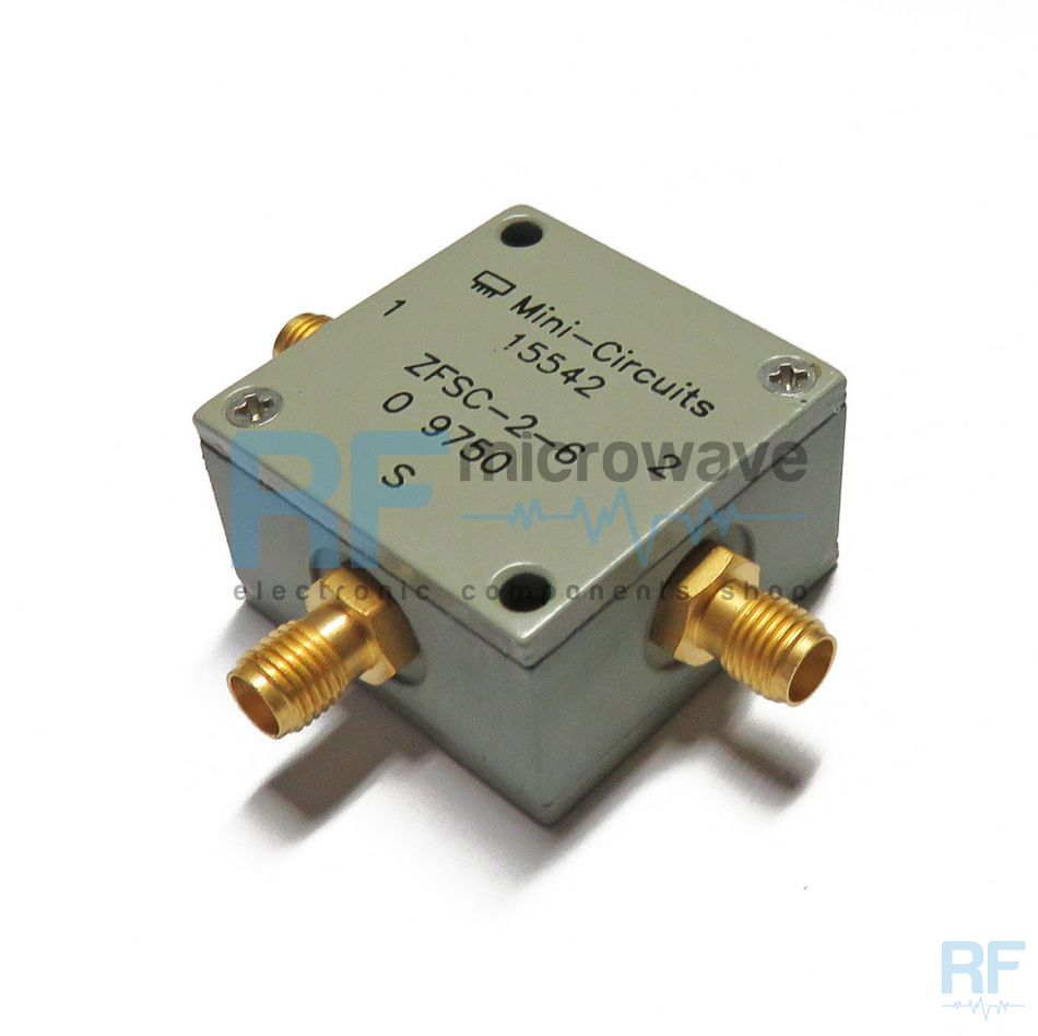 zfsc 2 6 s mini circuits 2 way coaxial power splitter combiner 60 mhz 1w buy on. Black Bedroom Furniture Sets. Home Design Ideas