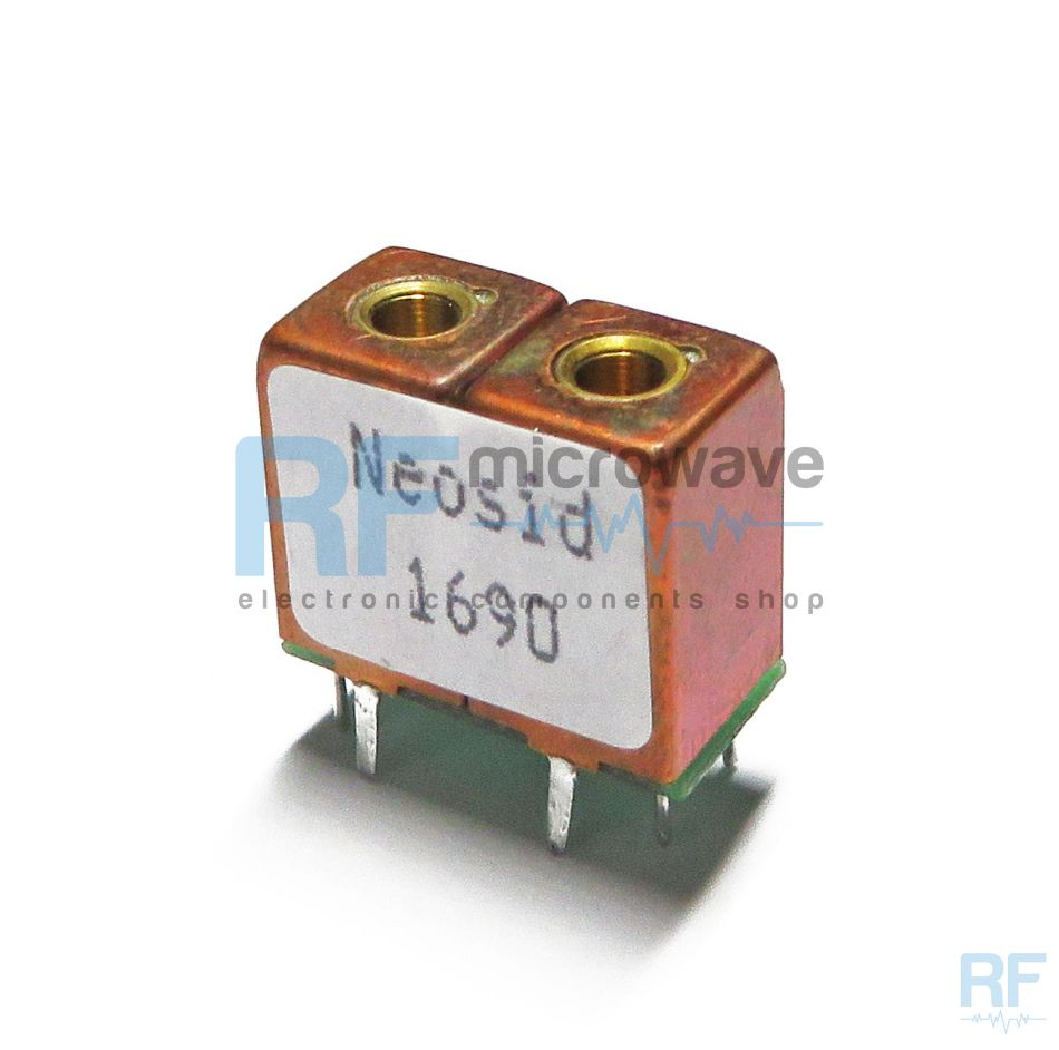 Helical band-pass filter