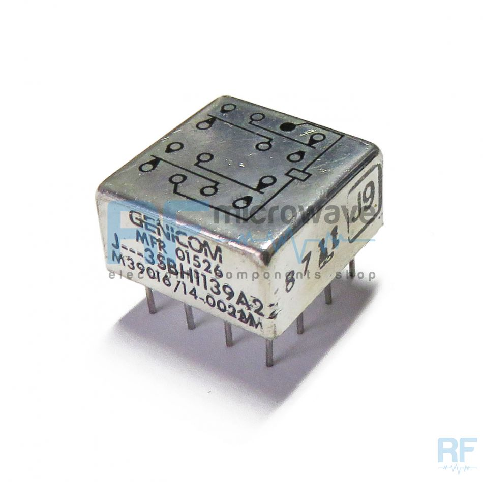 Electromechanical Relays Buy On Line Nais 12 Volt Relay Genicom 3sbh1139a2