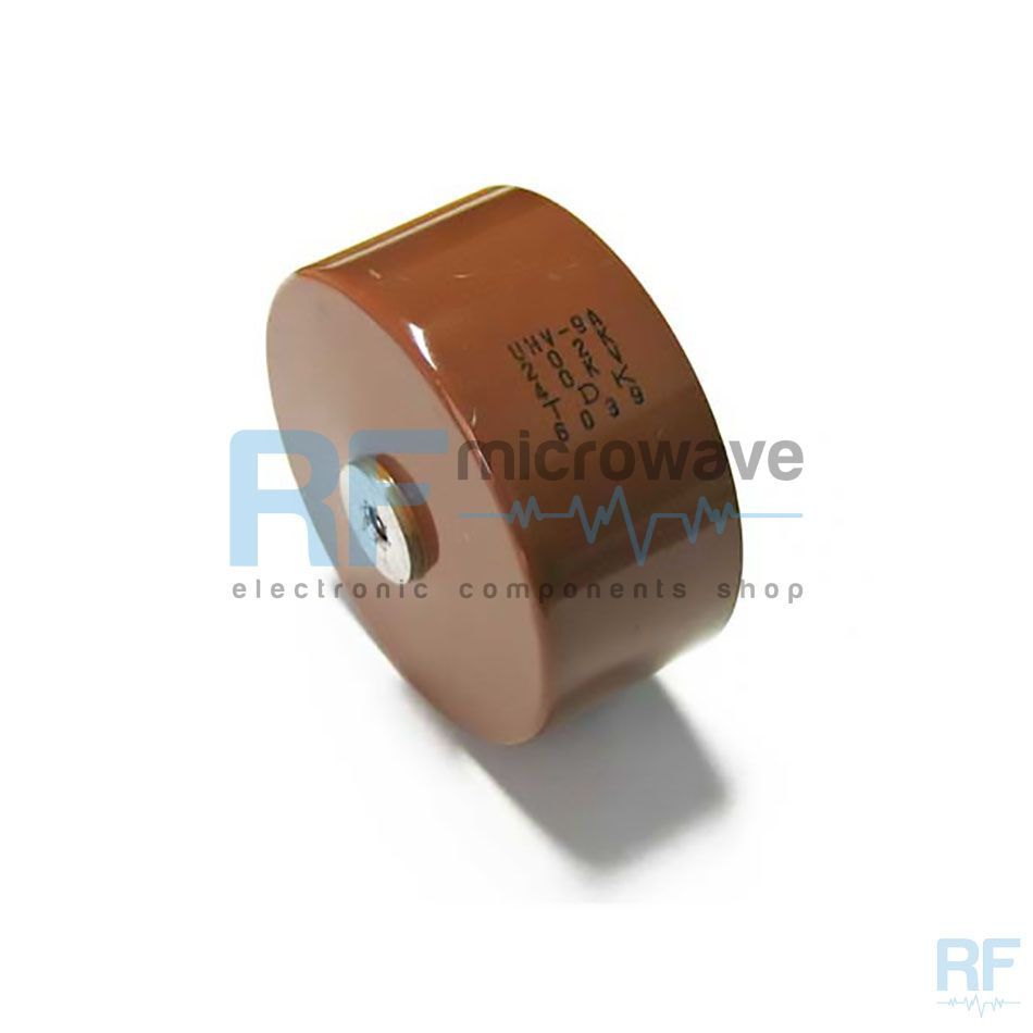 Uhv 9a 202k 40kv Tdk Ceramic Doorknob Capacitor 2000 Pf