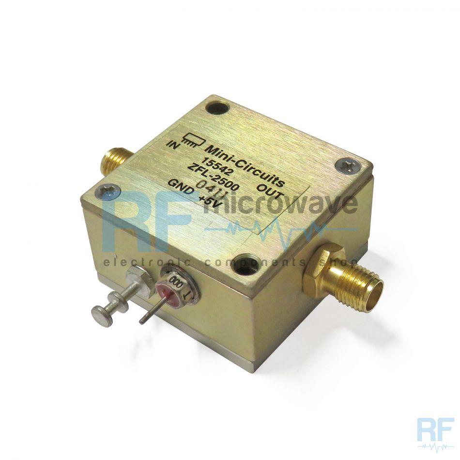 Amplifier, 500 - 2500 MHz, SMA female