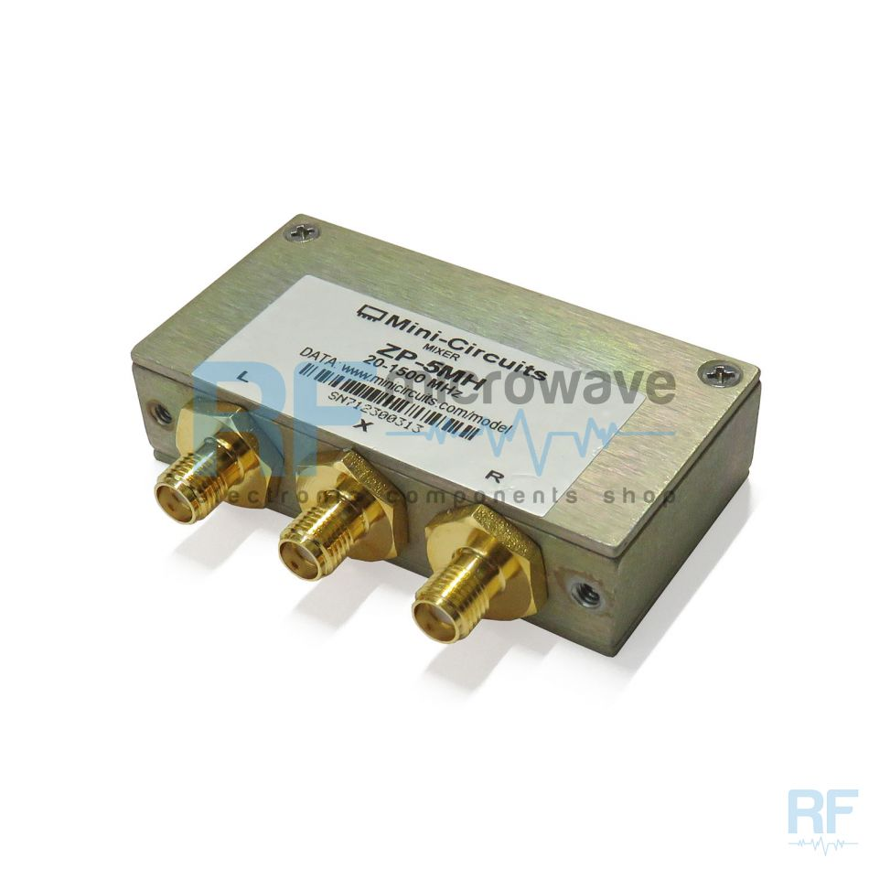 RF coaxial mixer, SMA female connectors