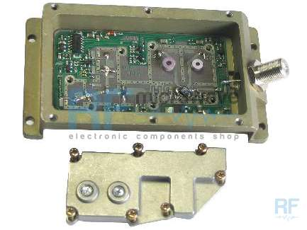 TV Sat converter for 11 - 12 GHz receiver, it has 2 separate input ports and IF outpot port, it can be used to save very interestig components