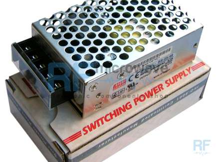 Mean Well RS-25-48 Boxed power supply, 48Vdc