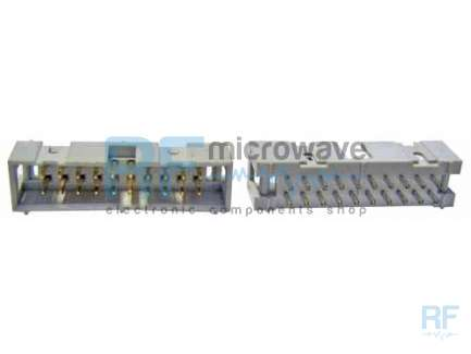 HEADER connector, IDC, 20 poles