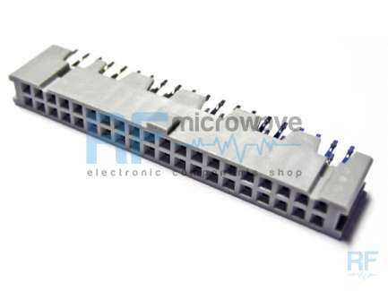 HEADER connector, IDC, 40 poles