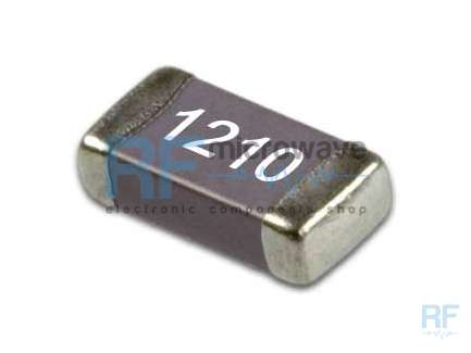 KYOCERA CM32X7R105K25AT Wide band SMD ceramic capacitor, 1 µF, 9 kHz - 12.4 GHz