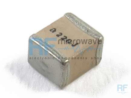 American Technical Ceramics 100B1R0BT500XT Porcelain multilayer SMD capacitor