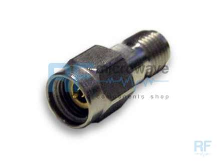 Radiall R127704001 2.9mm (K) plug to 2.9mm (K) jack coaxial adapter