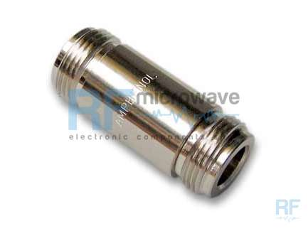Amphenol N7071A1-NT3G-50 N female to N female coaxial adapter