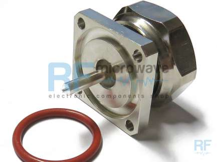 CPE 20-296 49-00 Panel mount 7/16 DIN male coaxial connector