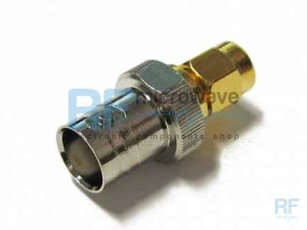 Mini-Circuits SM-BF50+ BNC female to SMA male coaxial adapter