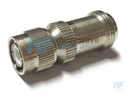 Radiall R191511000 N female to TNC male coaxial adapter