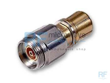 Huber+Suhner 33_PC7-N-Q50-4 PC-7 to QN female (N Quick-mate) coaxial adapter