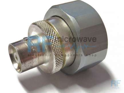 7/16 DIN male to C female coaxial adapter