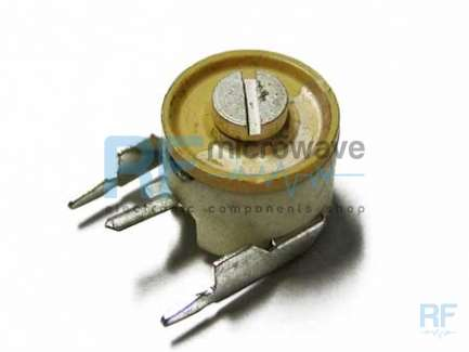 Stettner 300.321.519 Variable capacitor / trimmer, 6 - 25 pF, 250V