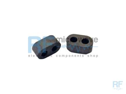 2-hole ferrite core for VHF and UHF