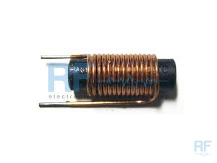 High current ferrite rod wound coil, 5.1 µH, 6.5 A