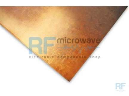 Rogers Corp RT/Duroid 5870 Microfiber (non vowen) teflon laminate 10 mils (0.25 mm) double face copper 0.5 OZ, 308 x 228 mm
