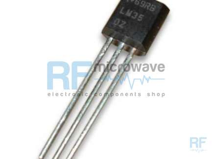 National Semiconductor LM35CZ Sensore di temperatura -40 / +110 °C, case TO-92