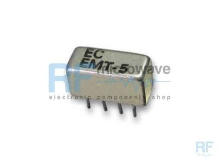 M/A-COM EMT-5 Passive mixer, RF/LO 5-1500 MHz, IF dc-1000 MHz, LO power level +7dBm, with pre-tinned pins