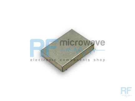 Tin plated 0.2 mm thick sheet metal shield, external size 26 x 19.5 mm, H 4.5 mm