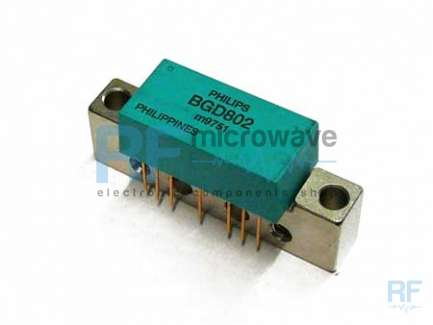 Philips BGD802 Wide band power amplifier module, 40 - 860 MHz