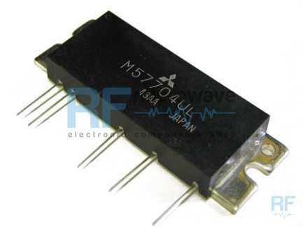 MITSUBISHI M57704UL UHF power amplifier module
