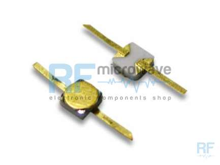 Noise generator diode, 10 MHz - 12 GHz, 8/12V, 10mA, output level 29/34dBENR -145/-140dBm/Hz, gold plated ceramic package