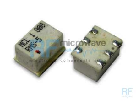 Mini-Circuits RMS-5 Passive mixer, LO/RF 5-1500 MHz, IF dc-1000 MHz, LO power level +7dBm, TT240 SMD package