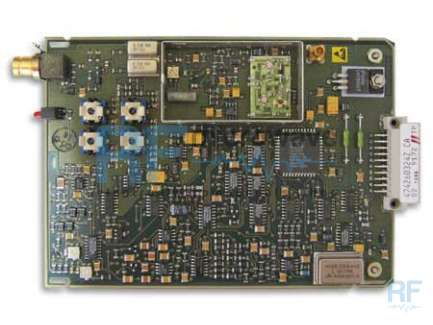 RF electronic board for the retrieving of components