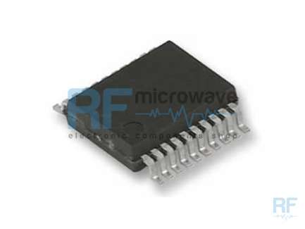 National Semiconductor LMX2330LTMX PLL dual synthesizer integrated circuit, up to 510 MHz and 2.5 GHz, SMD TSSOP-20