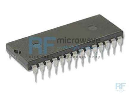 Motorola MC145152P2 CMOS PLL synthesizer integrated circuit, 28-lead DIL plastic