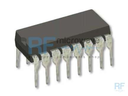 Motorola MC145166P CMOS Dual PLL synthesizer integrated circuit, up to 60 MHz, 16-lead DIL