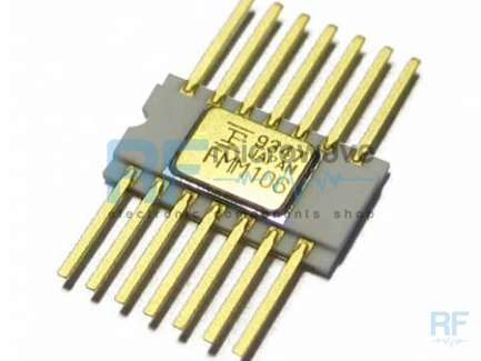 Fujitsu FMM106HG Divide by 8 integrated circuit, hermetic ceramic package