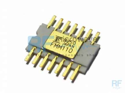 Fujitsu FMM110HG Divide by 8 integrated circuit, hermetic ceramic package