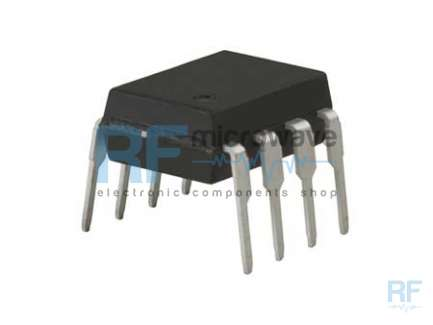 NEC UPB565C Prescaler integrated circuit, division ratio of 2/4/8/64, frequency 1 GHz, supply voltage 4.5/5.5V, 8-lead DIL package