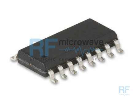 Philips SA604AD High performance FM IF integrated circuit, supply voltage 4-8V, SO-16 SMD package