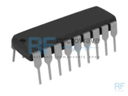 Plessey Semiconductors SL6640C Low power IF amplifier integrated circuit, supply voltage 6V, 18-lead DIL plastic package