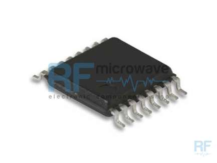 Analog Devices AD8362ARUZ Circuito integrato power detector, alimentazione da 4.5 a 5.5V, contenitore SMD TSSOP 16 pin