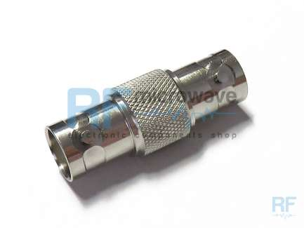 BNC female to BNC female coaxial adapter